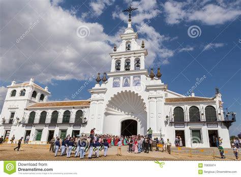 El ROCIO, ANDALUCIA, SPAIN   MAY 22: Romeria After ...