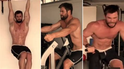 El salvaje entrenamiento que sigue Chris Hemsworth para ...
