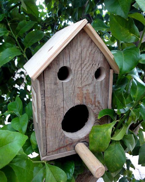 El Sello Verde: Adornos de jardín, casita para pájaros.