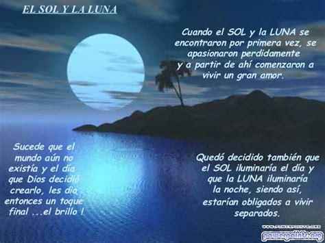 El sol y la luna, una historia de amor imposible