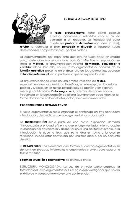 El texto argumentativo 2 by grasiele fernandes   Issuu