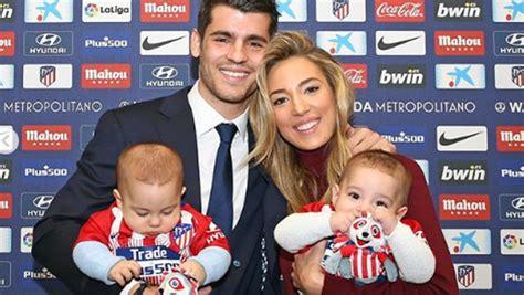 El tierno vídeo de los hijos de Morata y Alice Campello