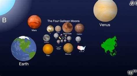 El universo en una infografía interactiva diseñada por dos ...