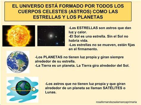 El Universo. Planetas y estrellas. El Sistema Solar. Los ...