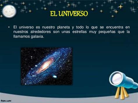 EL UNIVERSO Y LOS PLANETAS