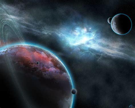 El universo y sus planetas.