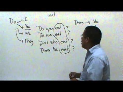 El Uso del Do y Does en el Inglés   YouTube