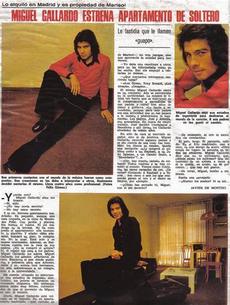 El vano ayer: Miguel Gallardo, estrenando piso de soltero ...