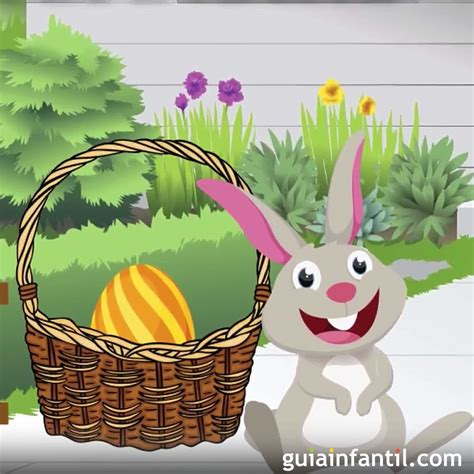 El verdadero conejo de Pascua. Cuento corto para niños