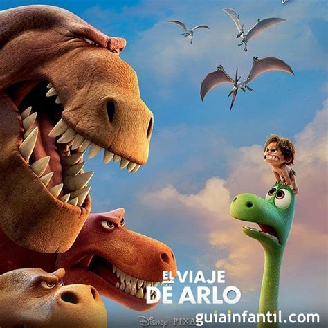 El viaje de Arlo. Película para niños de un dinosaurio bueno