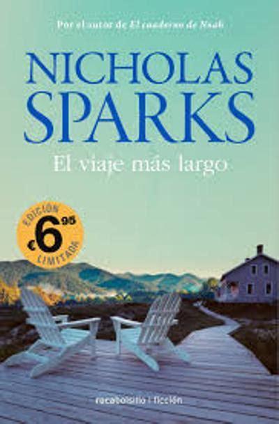 El viaje más largo, Nicholas Sparks   Comprar libro en Fnac.es