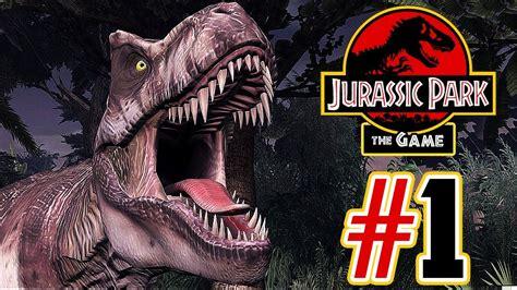 ¡ El videojuego de Jurassic Park ! Let s Play #1 Juego ...