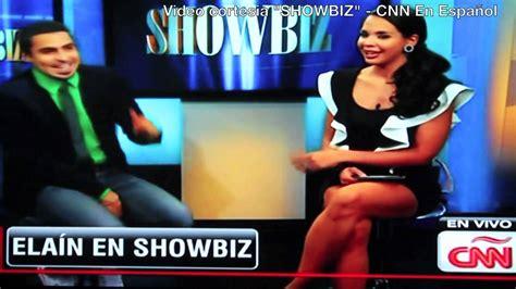 Elain @ ShowBiz   CNN En Español   YouTube