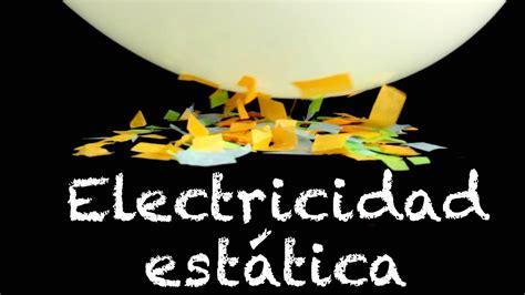 Electricidad estática   Experimentos para niños   Globo y ...
