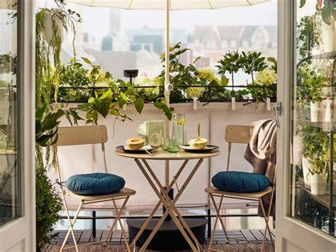 Elegancia sencilla para balcones pequeños   IKEA