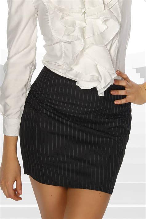 Elegante mini falda a rayas rock mini Basic s 2xl  36, 38 ...