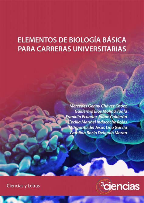 Elementos de biología básica para carreras universitarias ...