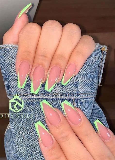 Elena Avila   YouTube in 2020   Long square acrylic nails ...