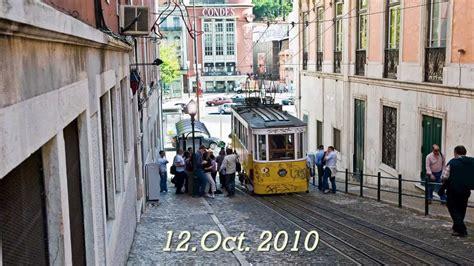 Elevador da Gloria. Funicular tram in Lisbon   YouTube