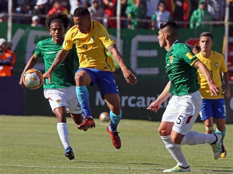 Eliminatorias: Bolivia y Brasil empataron sin goles en la ...