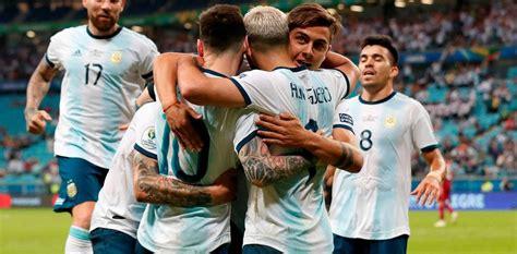 Eliminatorias: Hoy la Selección Argentina jugará ante ...
