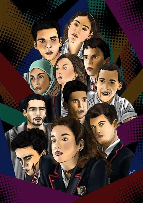 Elite Netflix  con imágenes    Series de netflix, Netflix ...