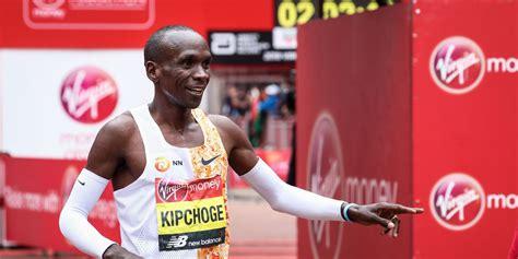 Eliud Kipchoge Running Under 2 Hours in the Marathon ...