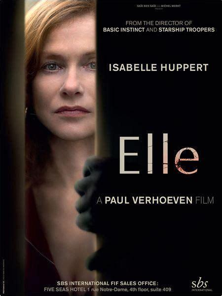 Elle  2016    FilmAffinity   Peliculas cine, Películas ...