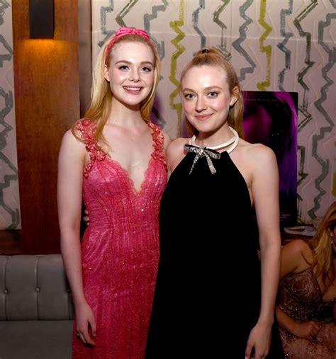 ELLE and DAKOTA FANNING at Teen Spirit Premiere Party in ...