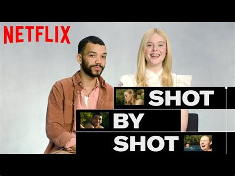 Elle Fanning and Justice Smith Break Down a Scene From All ...