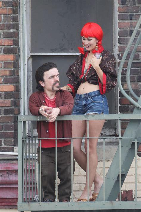 Elle Fanning and Peter Dinklage  Low Down  in LA 7 of 40 ...