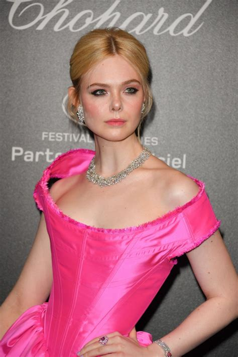 ELLE FANNING at Chopard Party at 2019 Cannes Film Festival ...