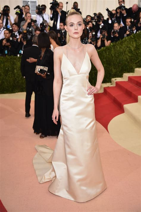 ELLE FANNING at Costume Institute Gala 2016 in New York 05 ...