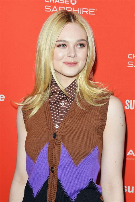 ELLE FANNING at I Think We're Alone Now Premiere at 2018 ...