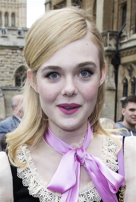 Elle Fanning at the Gucci Resort 2017 Fashion Show | Tom ...