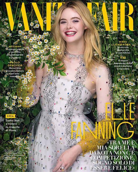 Elle Fanning for Vanity Fair Italia Magazine | Tom + Lorenzo
