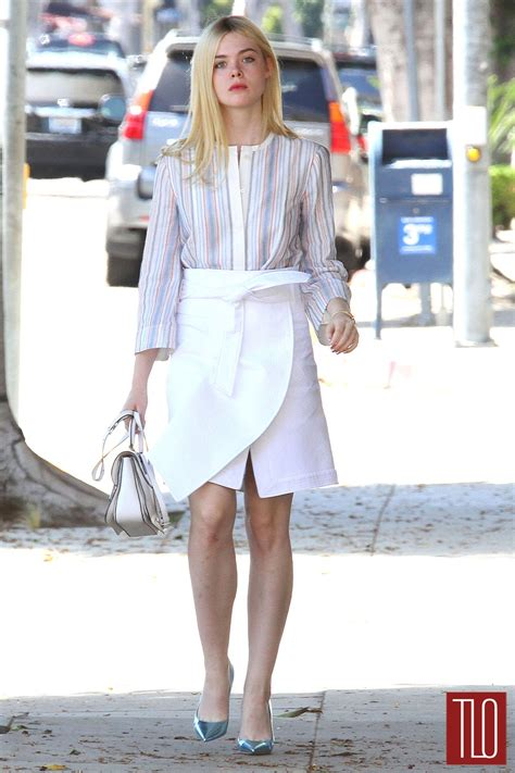 Elle Fanning Goes Shopping in Beverly Hills | Tom + Lorenzo