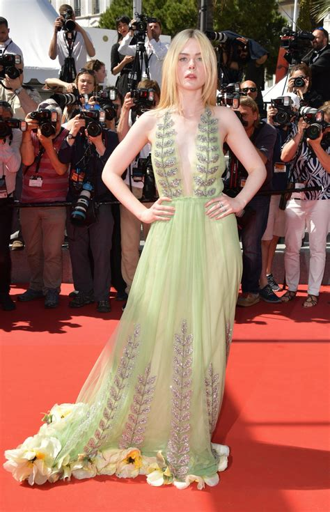 Elle Fanning    How to Talk to Girls at Parties  Premiere ...