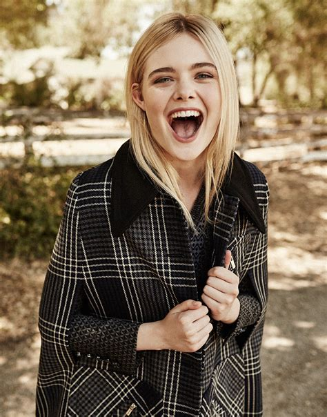 Elle Fanning in The Edit Magazine September 10th, 2015 by ...