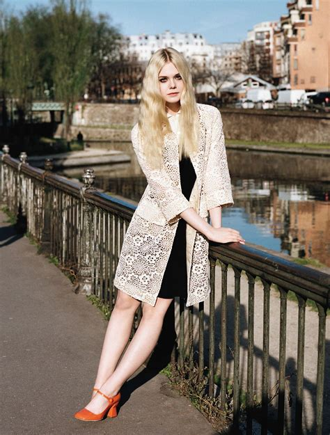 Elle Fanning, photographed by Angelo Pennetta for Vogue UK ...