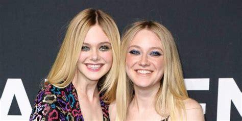 Elle Fanning  refused to watch  sister Dakota on  Friends ...