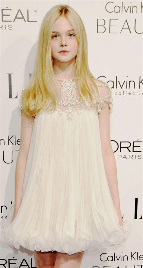 Elle Fanning | Ropa de chicas, Moda para niñas, Vestidos ...