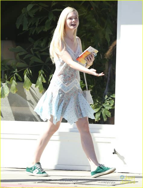 Elle Fanning: Some Kids Play Soccer, I Do Movies   Photo ...