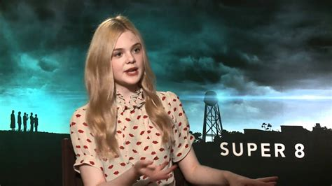 Elle Fanning Talks  Super 8    YouTube