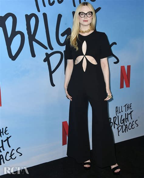Elle Fanning Wore Gucci To The Special Screening Of ...