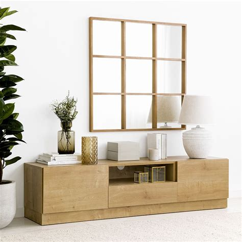 Ellen mueble TV con zócalo 160   Kenay Home