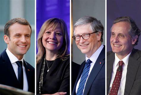 Ellos son los 50 mejores líderes de 2018  y hay un mexicano