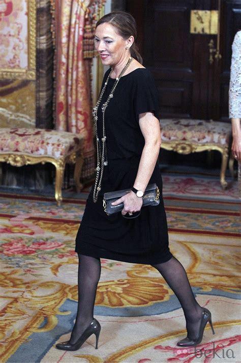 Elvira Fernández Balboa en la cena de gala al presidente ...