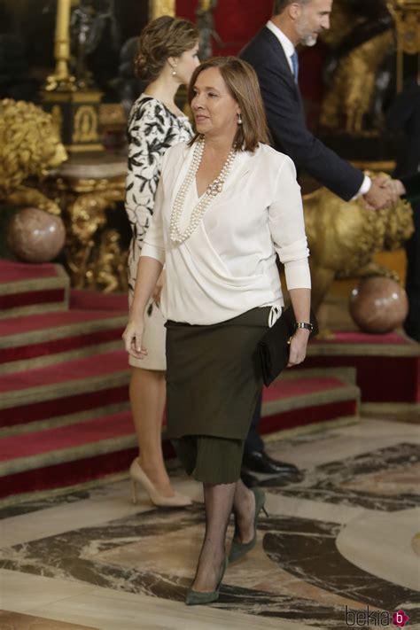 Elvira Fernández Balboa en la recepción del Día de la ...