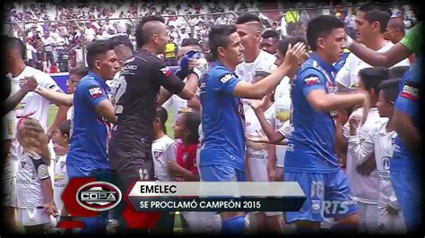 Emelec tricampeón del fútbol ecuatoriano   YouTube